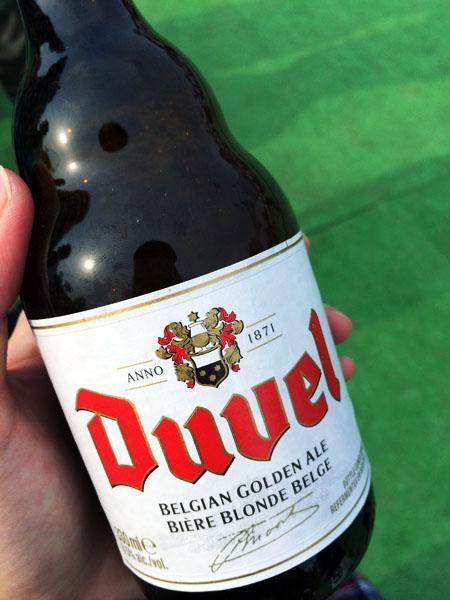アルコール度数8.5%のビール「デュエル」