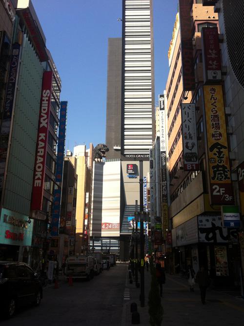 新宿のゴリラ